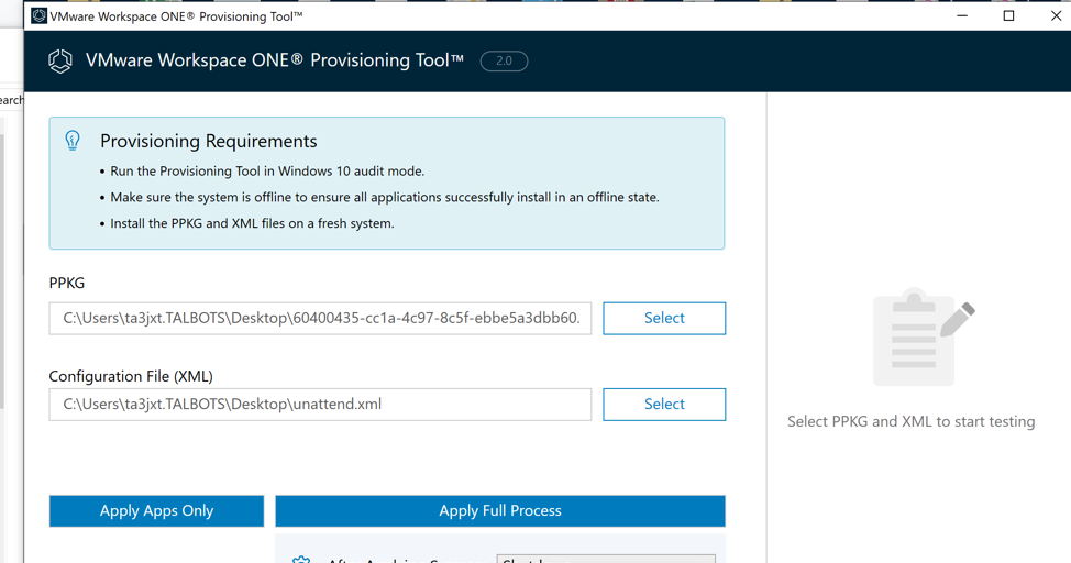Decoupling and Elevating Dell's New Provisioning for WorkspaceONE